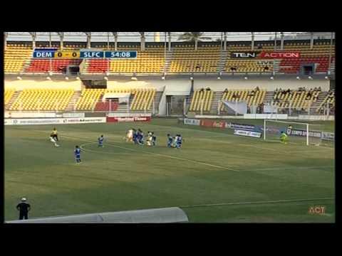 Hero I-League 2015 Dempo Sports Club (0) vs Shillong Lajong FC (2) 21-2-2015