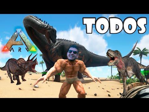 Todos Contra o Brontossauro - Ark Survival Evolved Multiplayer