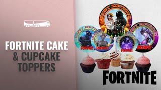 Fortnite Cake & Cupcake Toppers [2018 Best Sellers]: 12 FORTNITE Birthday Inspired Party Picks,