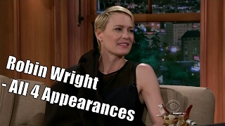"Robin Wright Aka Claire Underwood ""Speaks Swedish"" - 4/4 Appearances In Order [HD]"