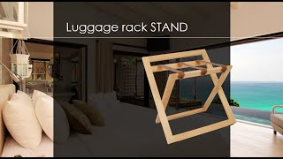 B-TRAY STAND 2019 | Luggage rack | Kofferständer | Reposamaletas | Repose valise