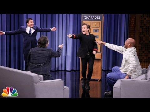 Charades with Ewan McGregor, Charles Barkley and Jeff Tweedy