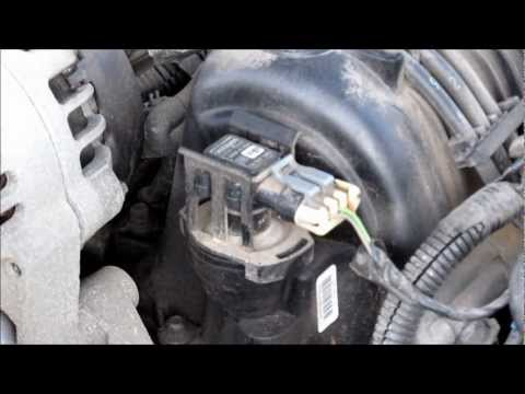 Changing MAP and MAF sensors in a 2002 Pontiac Grand Prix 3800 Series 2 V6