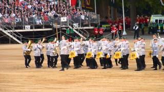 The Household Division's Beating Retreat 2015 04