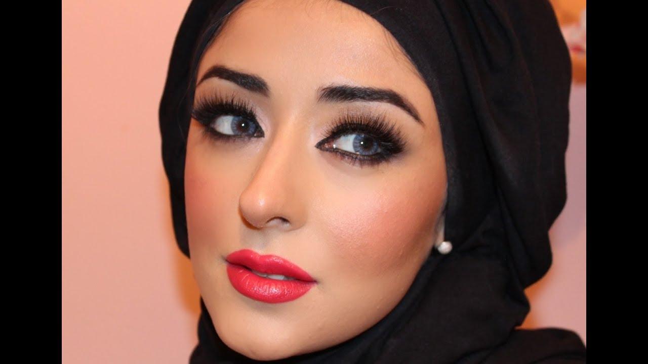 Eksotisk arabisk Makeup ekte prinsesse Jasmine Makeup ماكياج العربي