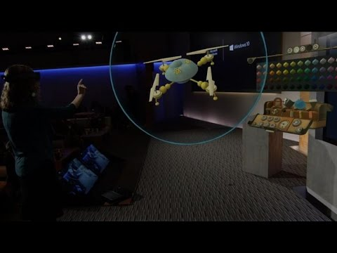 CNET News - Microsoft shows off Windows 10, HoloLens, Surface Hub