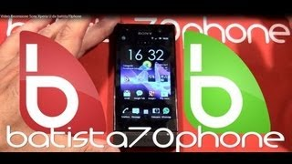 Video Recensione Sony Xperia U da batista70phone