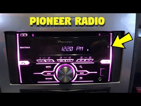 Pioneer FH-X721BT Double Din Car Stereo REVIEW!