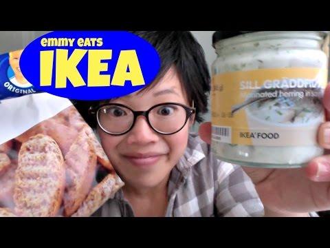 Emmy Eats IKEA - a Swedish food haul