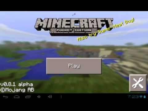 Mods Para Minecraft Pocket Edition 0.8.1/Generator caves