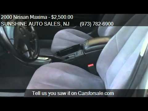 2000 Nissan Maxima SE GAS SAVER  for sale in Paterson, NJ 07