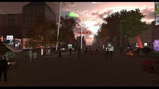 War of The Worlds at London City in Second Life