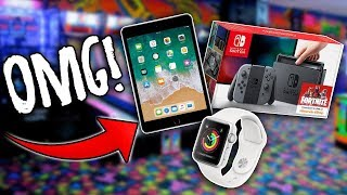 WON XBOX ONE, IPAD, SWITCH, OR APPLE WATCH? Arcade games