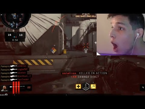 OpTic Pamaj - INSANE SNIPER CLIP ON THE BO4 BETA...TC4