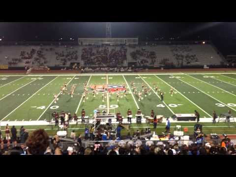 Donna High School D'ettes Dance Team vs Vela HS 10/11/2013