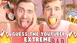 GUESS THE YOUTUBER EXTREME | Thomas & Rutger |