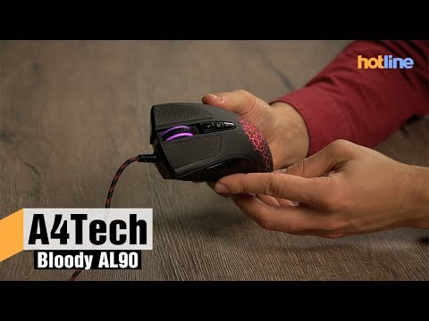 A4Tech Bloody AL90 — обзор игровой мыши