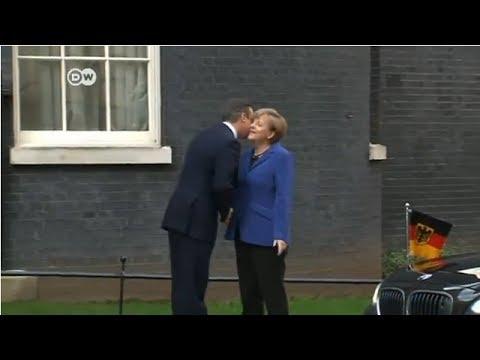 Merkel holds talks in London | Journal