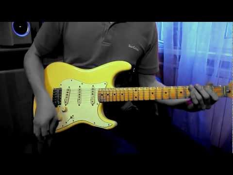 Yngwie J. Malmsteen - Arpeggios From Hell cover (Canon EOS 600d...