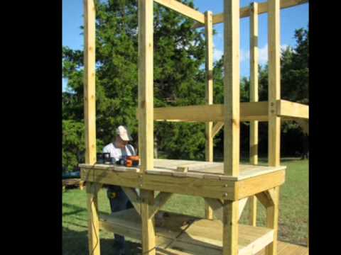 wood building a wooden swing set from scratch pdf plans