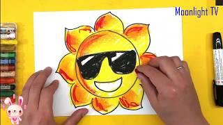 LK Cháu Vẽ Ông Mặt Trời - Cô Và Mẹ - Đi Học Về | Nhạc Thiếu Nhi Hay Nhất | I painted the sun