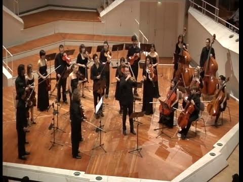 Tartini: Concierto para Trompeta en Re. Gábor Tarkövi (trompeta), Camerata Aragón