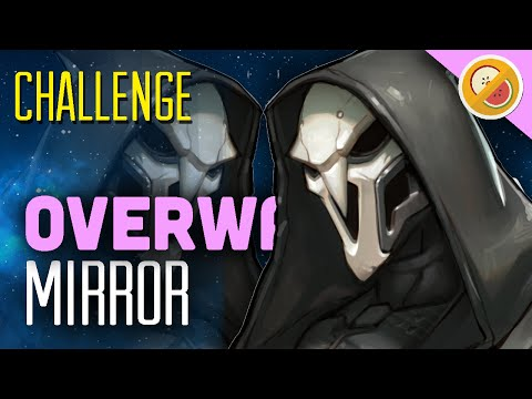 """Overwatch Challenge """"Mirror"""" - Gameplay (Funny Moments)"""