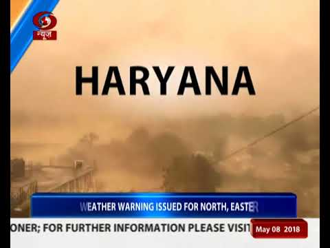 Dust storm hits Delhi,UP and Haryana
