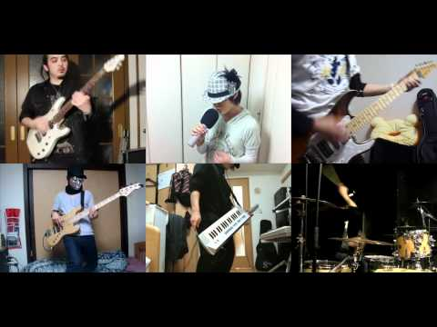 [HD]Steins;Gate OP [Hacking To The Gate] Band Cover