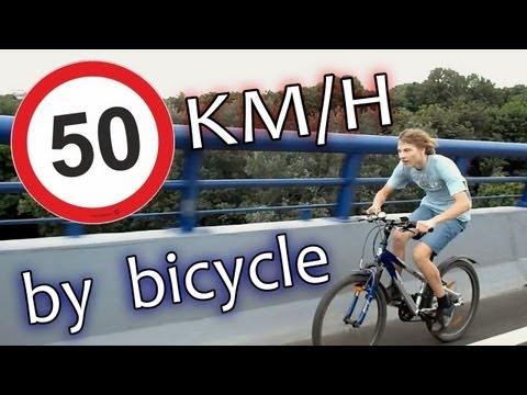 50 км/ч на велосипеде!!!