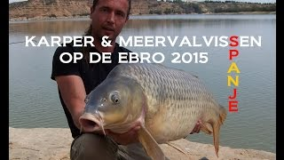 Karper en meervalvissen in spanje 2015 - Carp and catfishing on the Ebro in spain