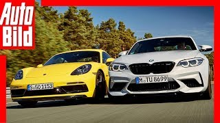 BMW M2 Competition vs Porsche Cayman GTS (2018) Test / Vergleich / Review