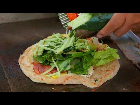 Shanghai Street Food - Breakfast Sandwich Wrap