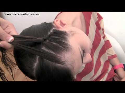 PEINADO: Trenza de nudos como diadema