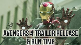 Avengers 4 Trailer Release & Run Time By Russo Brothers | Explained In Hindi |