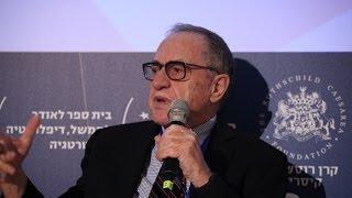 Prof. Alan M. Dershowitz, Felix Frankfurter Professor of Law, speaking at Herzliya conference 2014