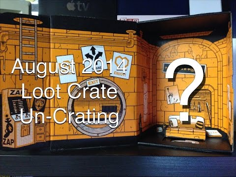 """Loot Crate """"Heroes"""" August 2014 Unboxing – VGPodcasts Crew"""