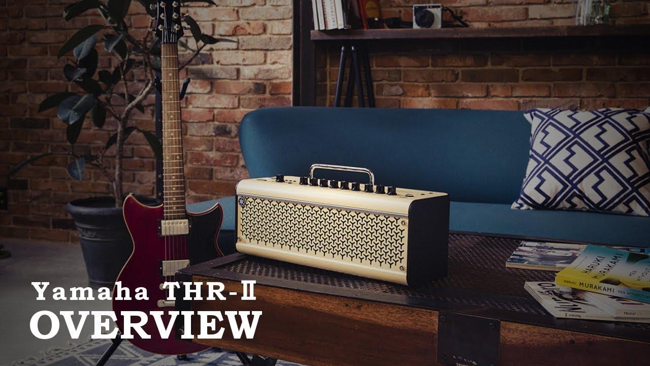 Oz Noy, Yvette Young (Covet), etc. - OVERVIEW コメント映像(日本語字幕付き)を公開 ヤマハ・ギターアンプTHR-IIシリーズ 3機種 2019年10月発売 thm Music info Clip