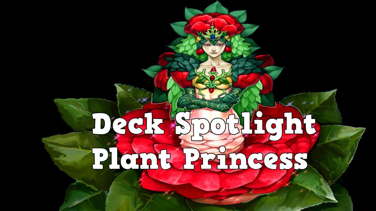 Plant Princess Deck Yugioh Deck Spotlight Plant