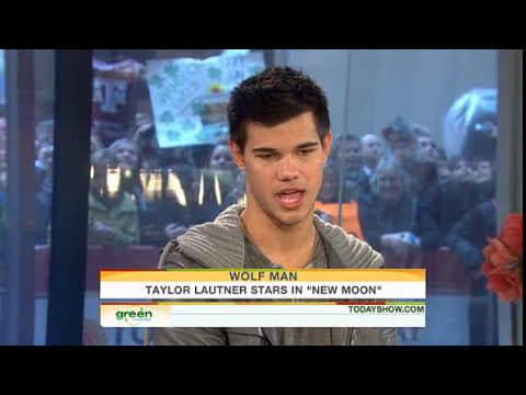 Taylor Lautner Talks Taylor Swift On 'The Today Show'
