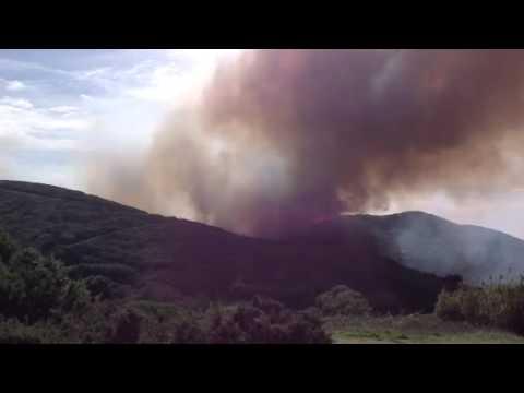 Incêndio no Cabo da Roca - 25 de Outubro de 2014 - 3