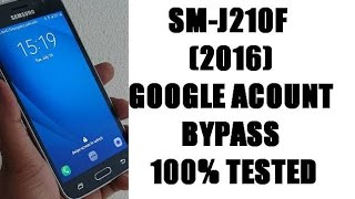 SM-J210F (frp solution) how to bypass google acount lock 2016 android 6.0.1