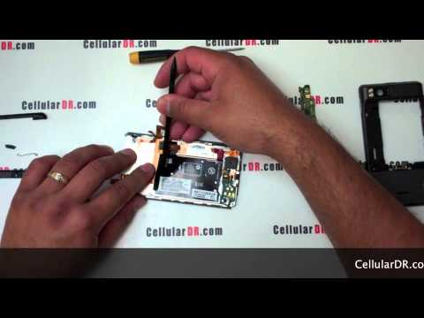 Verizon Droid X Repair - Motorola MB810 Disassembly Video