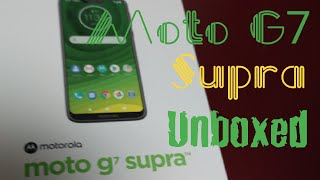 Motorola G7 Supra from Cricket Wireless Unboxing and First Look
