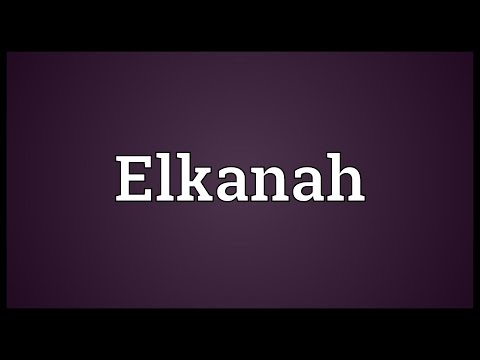 Header of elkanah
