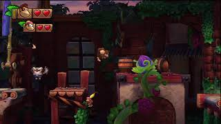 Donkey Kong Country Tropical Freeze 5-3 Fruity Factory [SECRET EXIT]