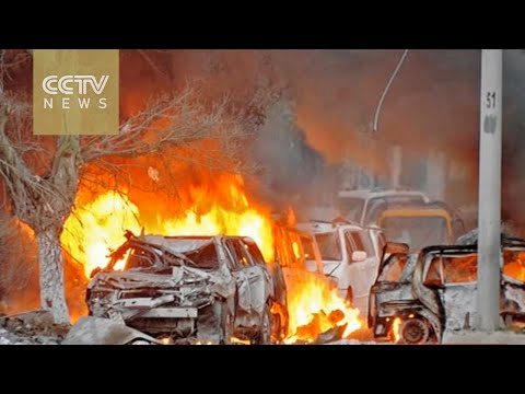 Mogadishu hotel attack: Al-Shabaab militants kill 10, several take hostages