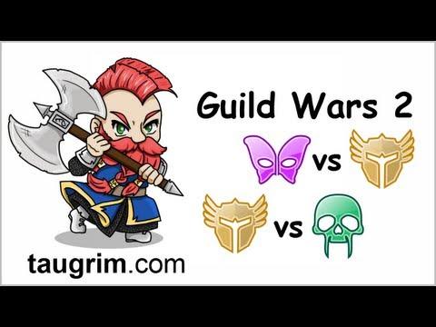 Guild Wars 2 PVP: Mesmer vs Warrior. Necromancer vs Warrior