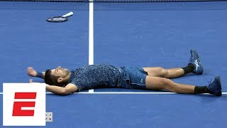 2018 US Open Highlights: Novak Djokovic defeats Juan Martín del Potro in straight sets to win | ESPN