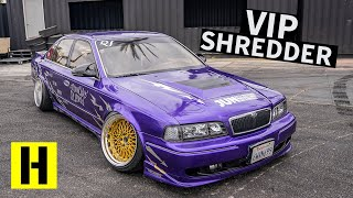 A 1JZ Swapped Nissan Q45 VIP Build That Rips Harder Than it Parks??
